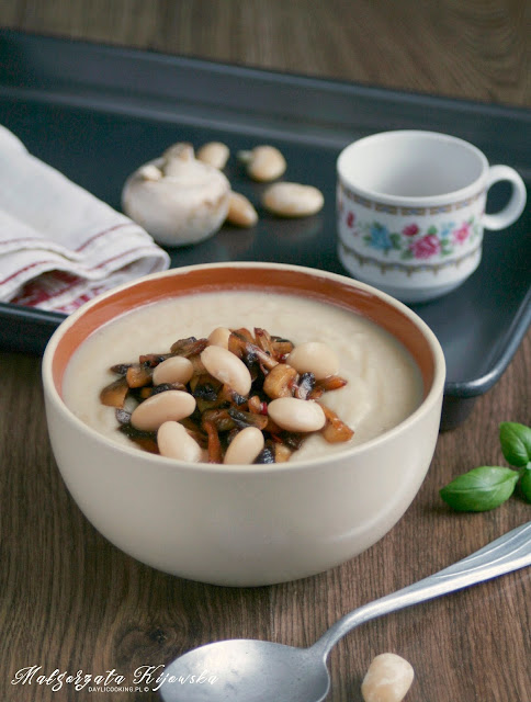 zupa krem, obiad, bezmięsny obiad, zupa bez mięsa, wege, vege