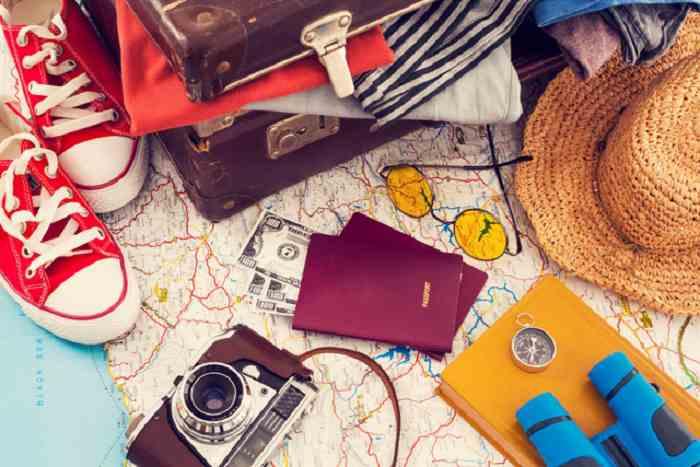 Dụng cụ cần mang theo khi đi du lịch