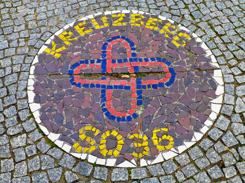 """Un emblema de """"guerra"""" SO36"""