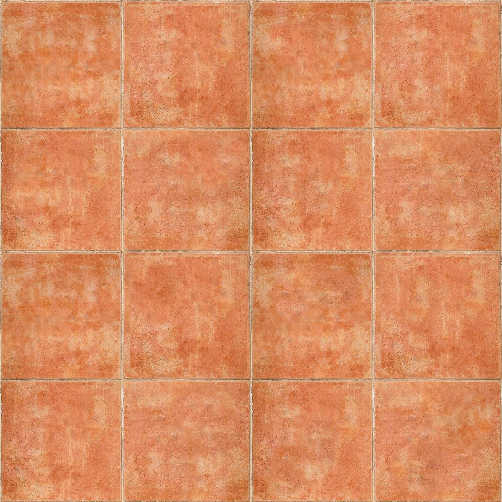 Seamless Terracotta Floor Texture Maps Texturise