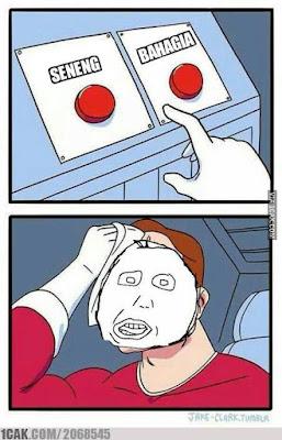 10 Meme 'Pilihan Sulit' Ini Bikin Ngakak Sampe Bingung