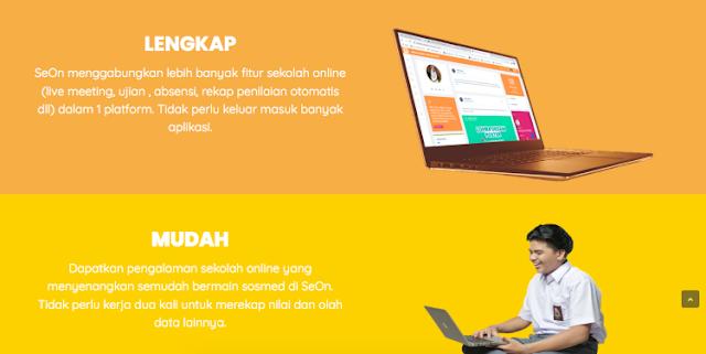Aplikasi sekolah berbasis web