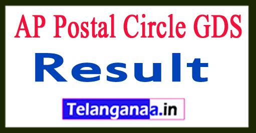 AP Postal Circle GDS Result 2017