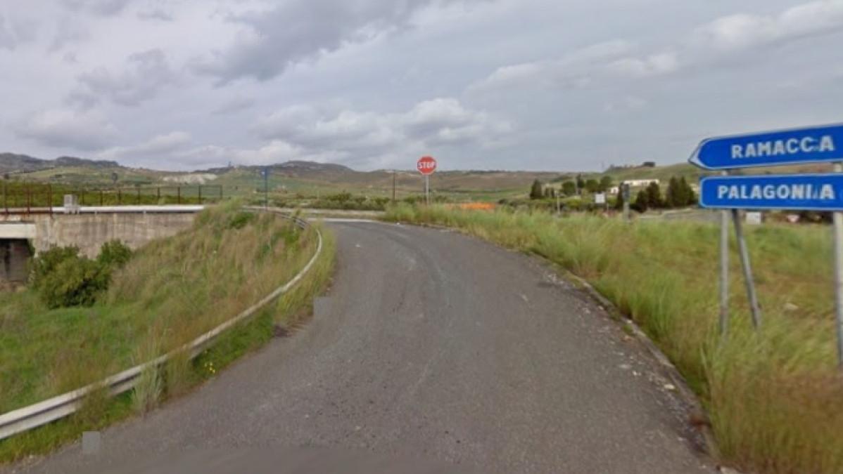 incidente stradale nei pressi di Ramacca