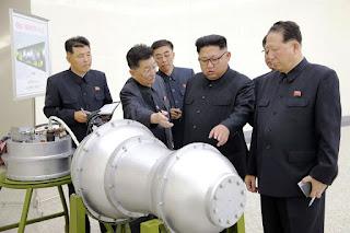 كوريا الشمالية تختبر قنبلة هيدروجينية يمكن تركيبها على صاروخ عابر للقارات