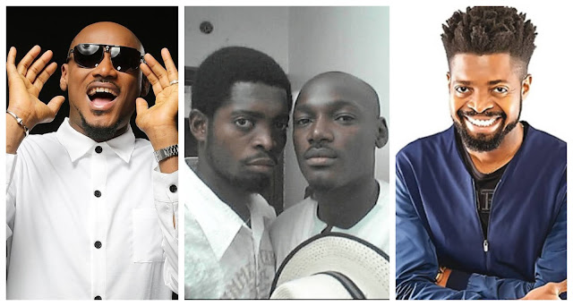 I thought we agreed to stay in the closet – 2face reacts after Basketmouth called him 'My baby'