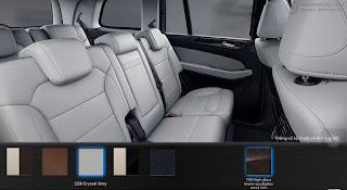 Nội thất Mercedes GLS 350d 4MATIC 2017 màu Xám Crystal 228