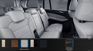 Nội thất Mercedes GLS 350d 4MATIC 2018 màu Xám Crystal 228