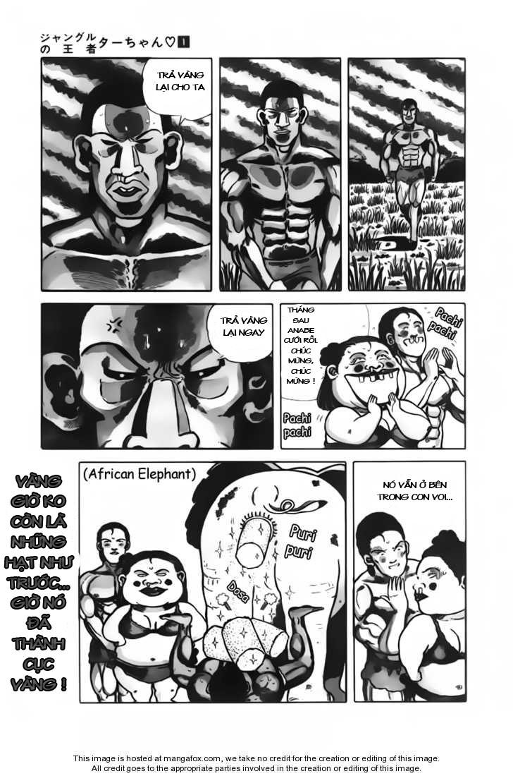 Chúa rừng Ta-chan chapter 15 trang 8