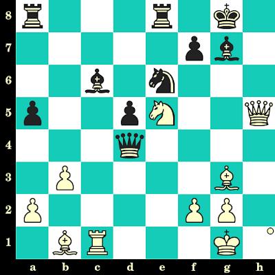 Les Blancs jouent et matent en 2 coups - Shakhriyar Mamedyarov vs Viktor Bologan, Pékin, 2012