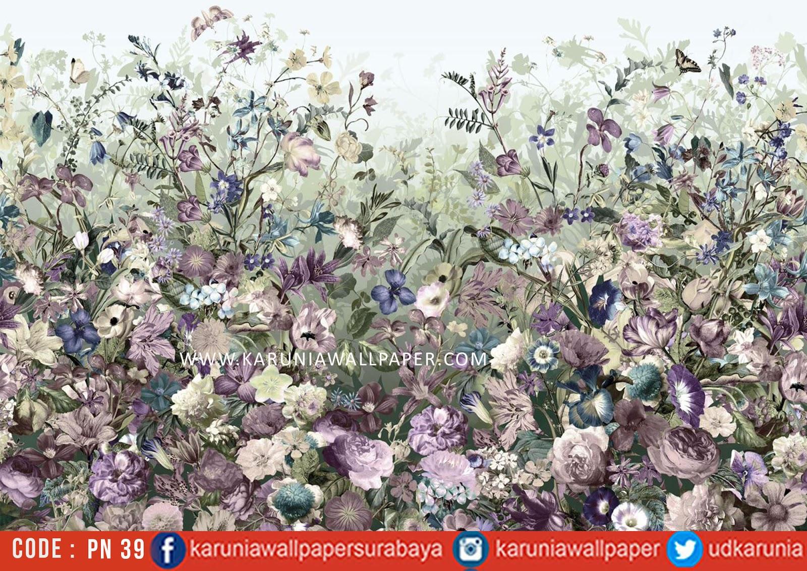 jual photowallpaper bunga
