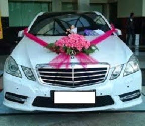 harga bunga hias mobil pengantin