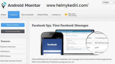 Android Monitor Facebook Hacking