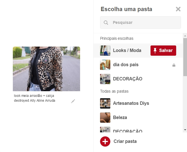 Colocar botão Pinterest no Blogger