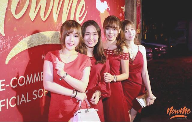 NOWME Live Commerce Pertama & Terbaik di Asia Tenggara