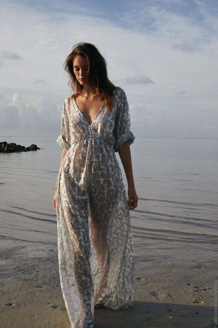 vestidos largos verano 2020 playa. Moda verano 2020.