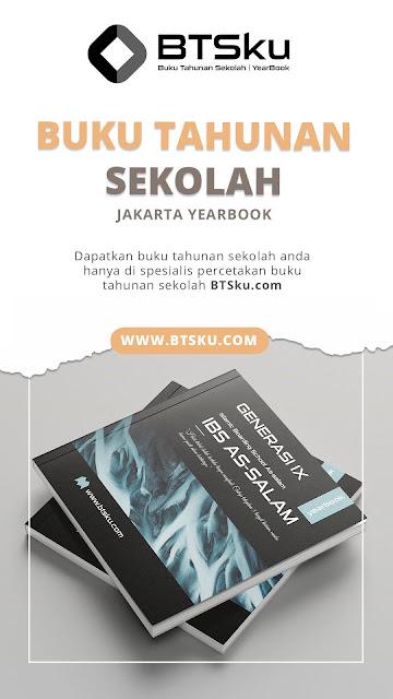 Buku Tahunan Sekolah Yearbook Kota Jakarta