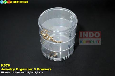 Jewelry Organizer 3 Drawers