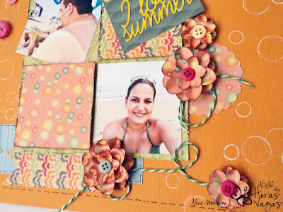 scrapbook summer i love beach colorido collor
