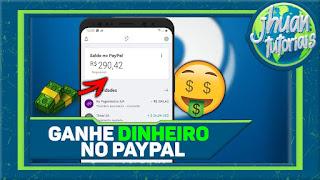 MELHOR APP PARA GANHAR DINHEIRO NO PAYPAL 2020