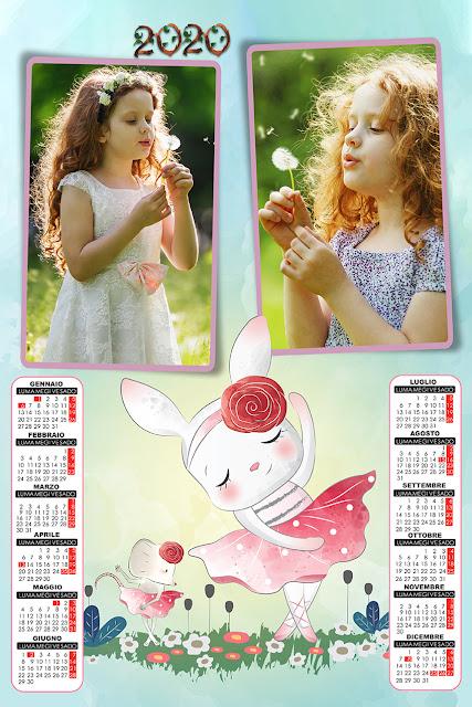 Calendario 2020 Mario Parietti