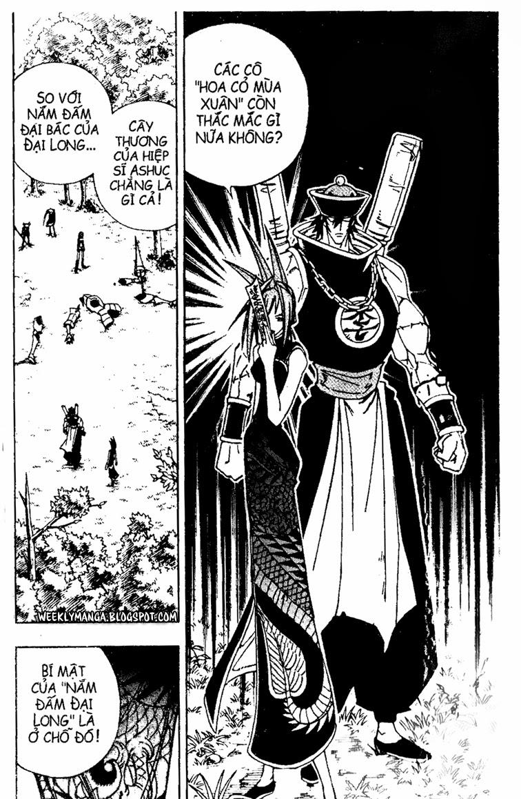 Shaman King [Vua pháp thuật] chap 155 trang 14