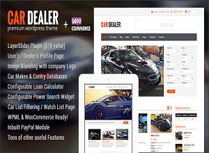 Download Car Dealer Automotive WordPress Themes