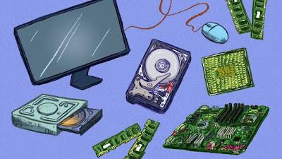 تعرف علي مكونات الكمبيوتر - ماهو الرام ؟ ما هو البروسيسور ؟ ما هو كارت الشاشة ؟