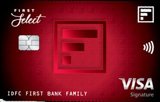 IDFC FIRST Select Credit Card