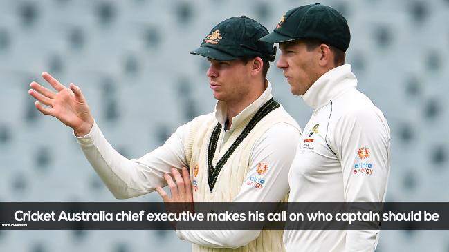 Cricket Australia chief executive makes his call on who captain