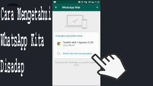 Cara Mengetahui WhatsApp Kita Disadap
