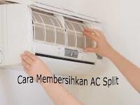 Cara Service dan Membersihkan Sendiri ( Perawatan ) AC Split Di Rumah