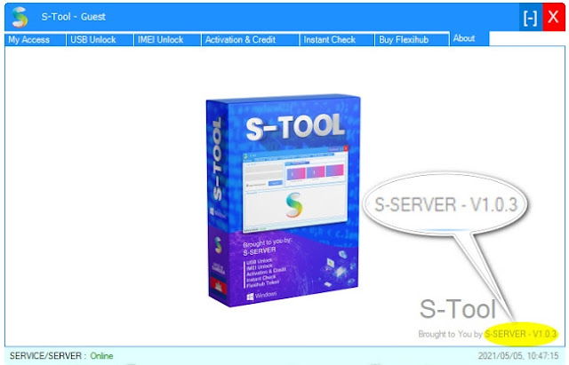 S-Tool V1.0.3 Free Download all in one Unlock and Server Tool Especially for mi cloud