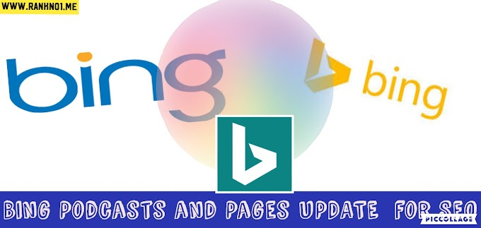 Bing Podcasts and Pages UPDATE  for SEO