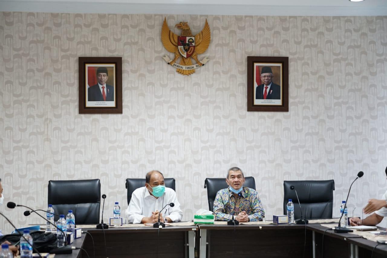Walikota Tebingtinggi Kunjungi BWSS Medan Untuk Menelusuri Rencana Normalisasi dan Pengendalian Banjir di Sungai Padang