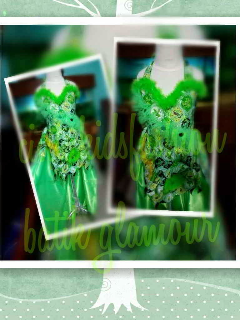 Kreasi Batik Green  Fashion Show Anak