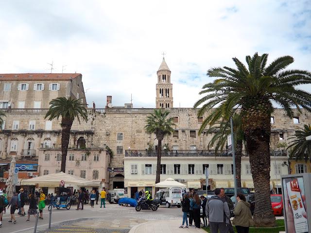 Brass Gate, Diocletian's Palace, Split, Croatia