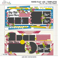 template : Paper Play 25 by Akizo Designs