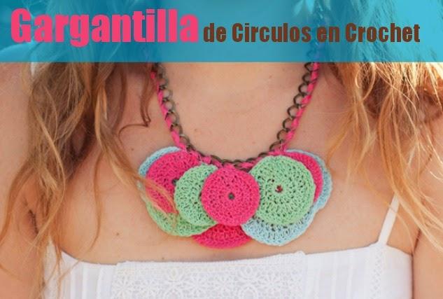 Gargantilla de Circulos de Crochet Tutorial