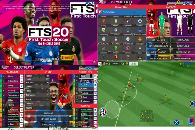 FTS 20 Mod Update Transfer League Eropa 2020 HD