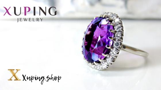 Купить женские кольца Xuping Jewelry в интернет-магазине Xuping.shop. Кольца женские позолота. Медицинское золото. Ювелирная бижутерия Хьюпинг.