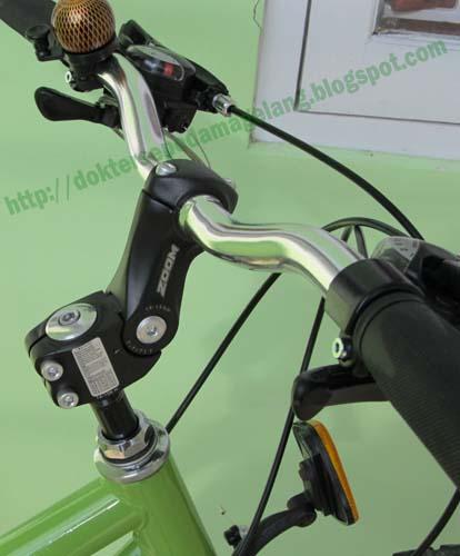 Dokter Sepeda Magelang: Stem ZOOM adjustable untuk stang