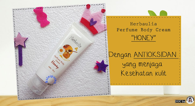 HERBAULIA PERFUME BODY CREAM varian Honey