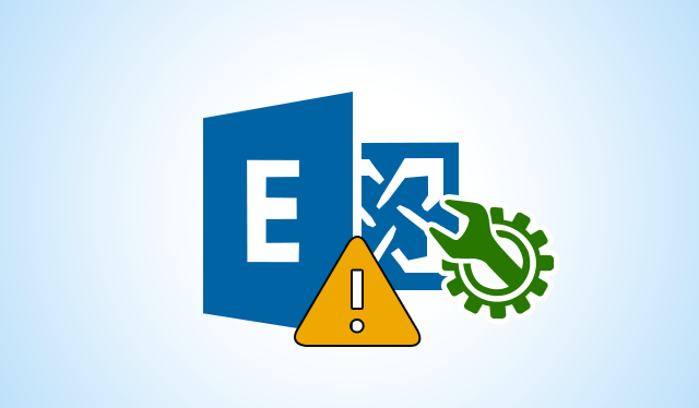 Unable to Initialize the Microsoft Exchange Information