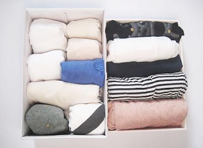 organizar vestidor con método konmari