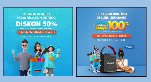 Promo Cashback blu BCA Digital