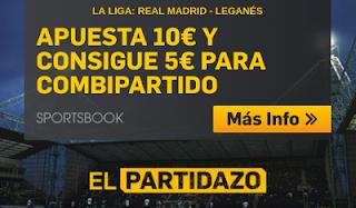 betfair promocion Real Madrid vs Leganes 1 septiembre
