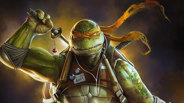 wallpaper ninja turtle background