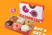 Promo Dunkin Donuts Terbaru 28 - 30 Mei 2020