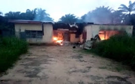 INEC office set ablaze in Akwa Ibom